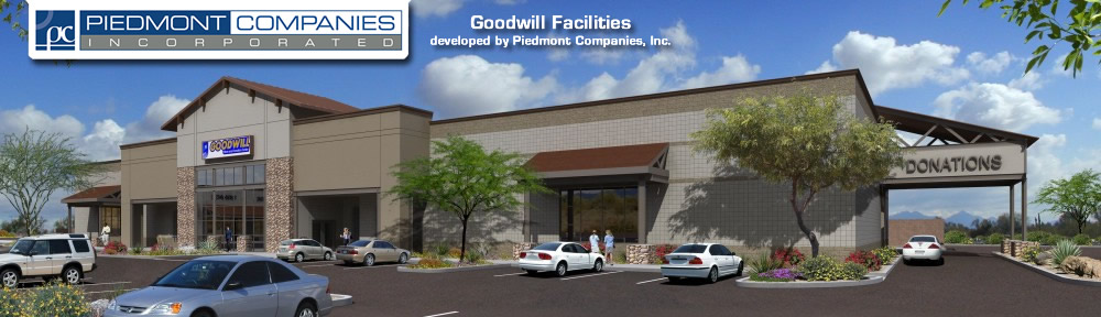 Mesa, AZ Power Ray Goodwill Rendering